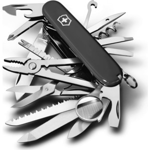Нож перочинный Victorinox SwissChamp 1.6795.3 (91мм, 33 функции, черный)