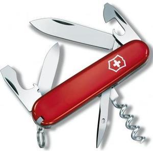 Нож перочинный Victorinox Tourist 0.3603 (84мм, 12 функций, красный) нож перочинный victorinox recruit 0 2503 10 функций 84мм красный page 8