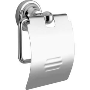 Держатель туалетной бумаги Elghansa Carrington с крышкой, хром (CRG-300)