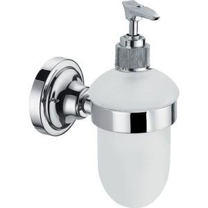 Дозатор для жидкого мыла Elghansa Carrington хром (CRG-470) ершик настенный elghansa carrington хром crg 810