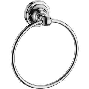 Полотенцедержатель Elghansa Carrington кольцо, хром (CRG-875) ершик настенный elghansa carrington хром crg 810