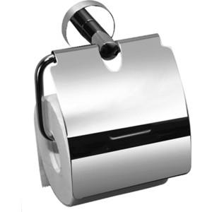 Держатель туалетной бумаги Elghansa Kentycky с крышкой, хром (KNT-300) вешалка с 4 крючками elghansa kentycky хром knt 640