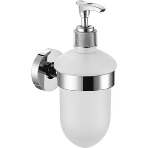 Дозатор для жидкого мыла Elghansa Kentycky хром (KNT-470) вешалка с 4 крючками elghansa kentycky хром knt 640