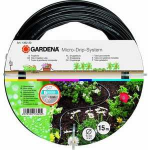 Шланг сочащийся Gardena 3/16 (4.6мм) 15м для наземной прокладки (01362-20.000.00)