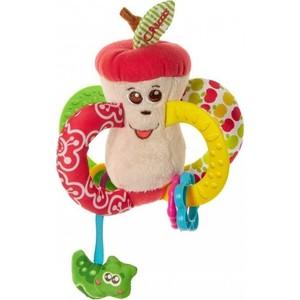 Игрушка-погремушка Chicco Вкусное яблочко 7652 игрушка погремушка chicco поезд