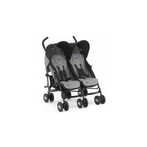Коляска для двойни Chicco Echo Twin Stroller Coal коляска chicco коляска для двойни echo twin stroller garnet