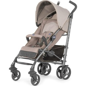 цена на Коляска трость Chicco Lite Way Top Stroller цвет Sand с бампером