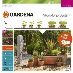 Комплект микрокапельного полива базовый с таймером Gardena (13002-20.000.00)