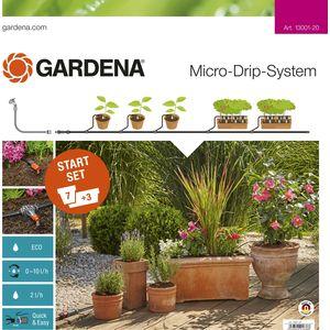 Купить со скидкой Комплект микрокапельного полива базовый Gardena (13001-20.000.00)
