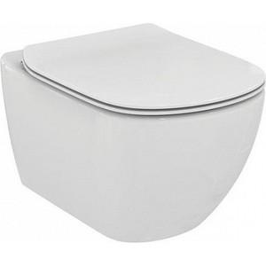 Унитаз подвесной Ideal Standard Tesi AquaBlade с сиденьем микролифт (T007901, T352701)