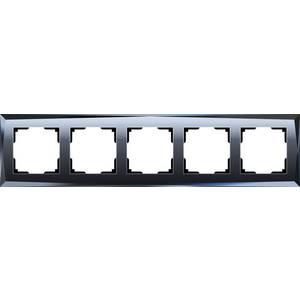 лучшая цена Рамка Werkel Diamant черный WL08-Frame-05
