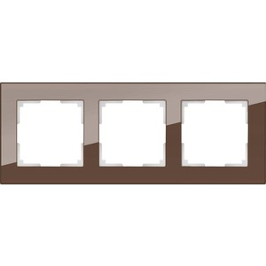 Рамка Werkel Favorit мокко WL01-Frame-03