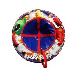 Тюбинг 1Toy Angry Birds надувные сани,резиновая автокамера, 85см (Т59052) 1toy angry birds space т56500