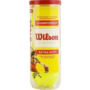 Мячи теннисные Wilson Championship WRT110000