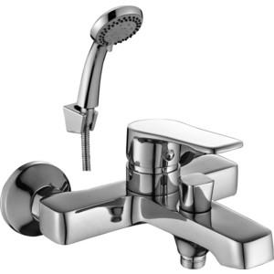 Смеситель для ванны Decoroom с коротким изливом (DR39036) смеситель для ванны с коротким изливом lemark benefit lm2502c
