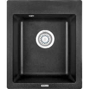 Кухонная мойка Granula GR-4201 черный кухонная мойка granula gr 4801 415х490 черный