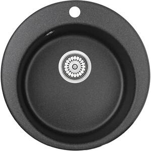 Кухонная мойка Granula GR-4801 черный кухонная мойка granula gr 4801 415х490 черный