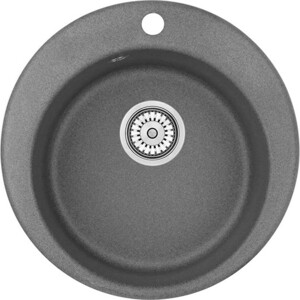 Кухонная мойка Granula GR-4801 графит кухонная мойка granula gr 4801 415х490 черный