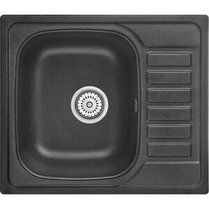 Кухонная мойка Granula GR-5801 черный кухонная мойка granula gr 4801 415х490 черный
