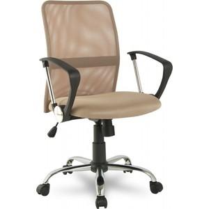 Офисное кресло College H-8078F-5 Beige кресло college h 8078f 5 ткань офисное крестовина хромированный металл подлокотники пластик черный