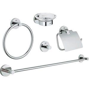 Набор аксессуаров Grohe Essentials 5 предметов (40344001)