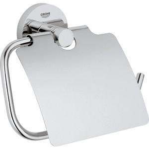 Держатель туалетной бумаги Grohe Essentials с крышкой (40367001)