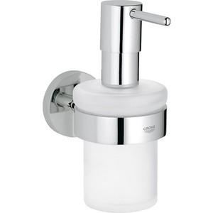 Дозатор для жидкого мыла Grohe Essentials с держателем (40448001)