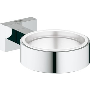 Запасной держатель мыльницы или стакана Grohe Essentials Cube для стакана, мыльницы, дозатора (40508001)