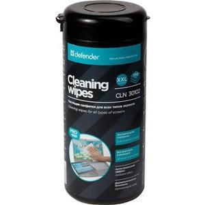 Чистящие средство Defender CLN 30102 чистящие салфетки для экранов и оптики, туба 100шт.