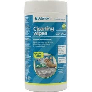 Чистящие средство Defender CLN 30320 чистящие салфетки для экранов и оптики, туба 100шт.