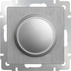 Диммер Werkel серебряный рифленый WL09-DM600