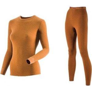 Комплект женского термобелья Guahoo рубашка и лосины (22-0601 S/BR / 22-0601 P/BR) кальсоны guahoo outdoor heavy 22 0340 p bk 901 m 50