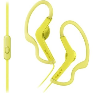 Наушники Sony MDR-AS210AP yellow sony wi sp500 yellow