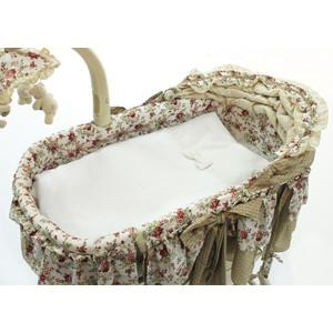 колыбели Набор Fiorellino Premium Baby (Фиореллино Премиум Беби) для электронной колыбели белый