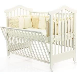 Кроватка Fiorellino Lily Фиореллино Лили 120х60 white