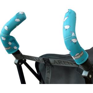 Чехлы Choopie CityGrips (Сити Грипс) на ручки для коляски-трости 379/4103 aqua whale чехлы choopie citygrips на ручки для коляски трости 560 cute clouds серый