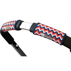 Чехлы Choopie CityGrips (Сити Грипс) на ручку для универсальной коляски 366/4271 chevron tri-color