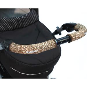 Чехлы Choopie CityGrips (Сити Грипс) на ручку для универсальной коляски длинные 511/9341 Brown Leopard чехлы choopie citygrips на ручки для универсальной коляски 340 brown leopard коричневый