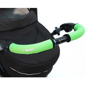 Чехлы Choopie CityGrips (Сити Грипс) на ручку для универсальной коляски длинные 513/9365 Neon Green