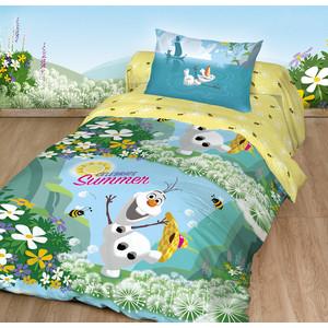 цены на Детское постельное белье Disney Холодное Сердце. Олаф Лето с наволочкой 50x70 (180870)  в интернет-магазинах