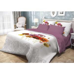 цена на Комплект постельного белья Волшебная ночь Семейный, ранфорс, Fialki (701935)