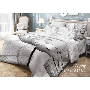 Комплект постельного белья Волшебная ночь 1,5 сп, ранфорс, Poppy с наволочками 70x70 (702134)