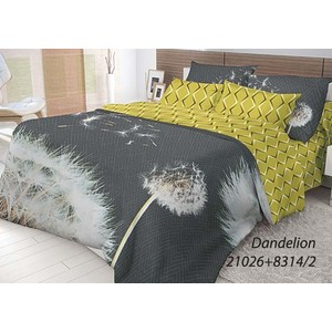 Комплект постельного белья Волшебная ночь 1,5 сп, ранфорс, Dandelion с наволочками 70x70 (702173)
