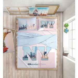 Комплект постельного белья Love me 2-х сп, перкаль, Manhattan Dreams (198971/711061) luxberry комплект постельного белья sea dreams