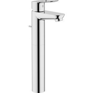 Смеситель для раковины Grohe BauLoop высокий, с донным клапаном (32856000)