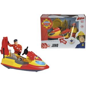 Набор Simba Пожарный Сэм, Гидроцикл со светом, акс. + фигурка цены