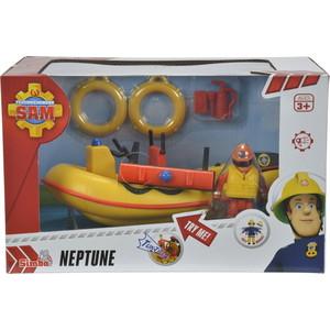 Игровой набор Simba Пожарный Сэм, Лодка спасателей с акс. + фигурка, 20см цены