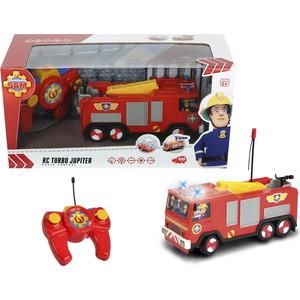 Пожарная машина Dickie Пожарный Сэм - на р/у, 2х кан., свет, 1:24 игрушка машина р у 1 24 джип