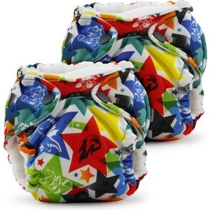 Многоразовые подгузники Kanga Care для новорожденных Lil Joey - 2 шт. Dragons Fly