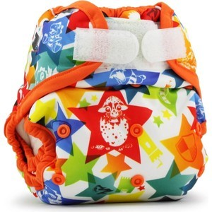 Обложка подгузник Kanga Care One Size Aplix Cover - Dragons Fly/Poppy